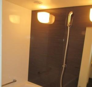施工後・ホーロークリーン浴室パネル