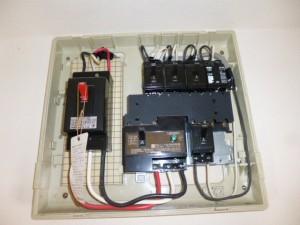 浴室暖房乾燥機分電盤