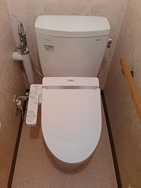 TOTO組み合わせ便器『ピュアレストQR(手洗器なし)』+ウォッシュレット『BV2シリーズ』