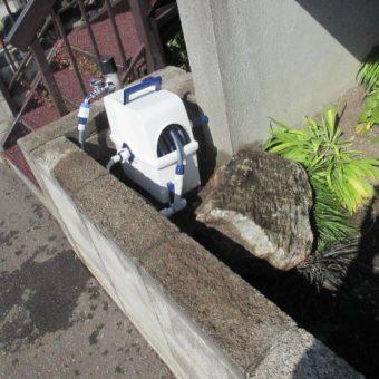 札幌市白石区戸建住宅 散水栓交換