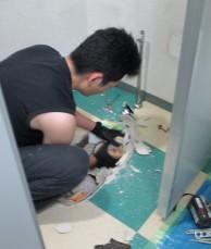 和式トイレ解体2