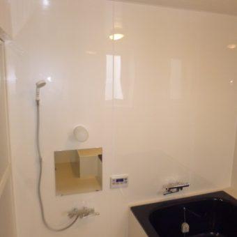お掃除しやすく暖かい浴室へ!リフレッシュ工事 札幌市
