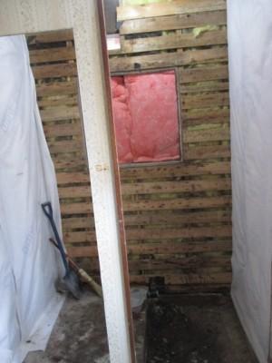 在来工法浴室解体