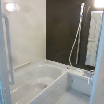 充実の基本性能と低価格を両立させた「ミーナ」への浴室リフォーム  札幌市