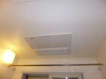 NORITZ(ノーリツ)製『天井カセット形浴室暖房乾燥機』交換工事 札幌市