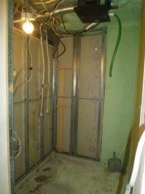 浴室空間解体