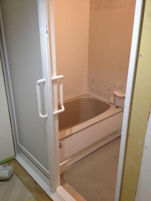風呂ドア引戸