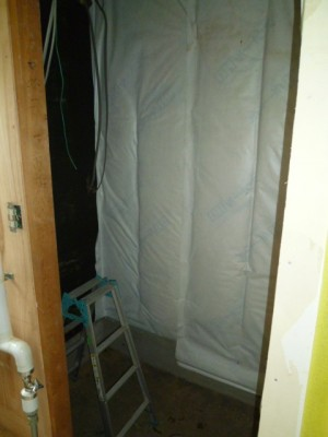 断熱防湿施工
