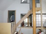 階段土台設置