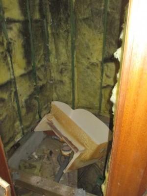 既存浴室解体4