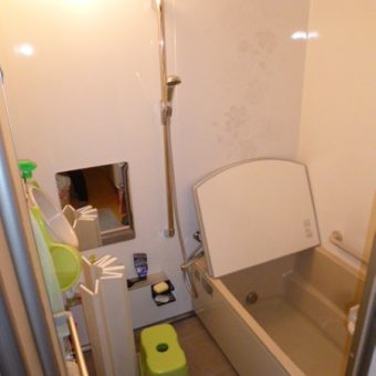 やっぱりホーロークリーン浴室パネルは清掃性抜群です!札幌市