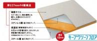 キープクリーンフロア構造