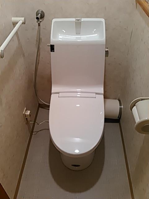 LIXILマンションリフォーム用『アメージュ シャワートイレ』