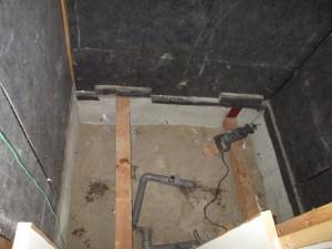 既存浴室解体撤去