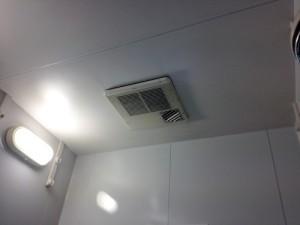 工事前浴暖