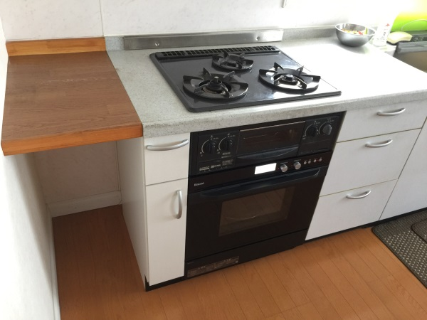リフォーム後オーブン