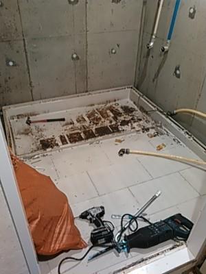 浴室撤去3
