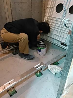 伸び美浴室施工