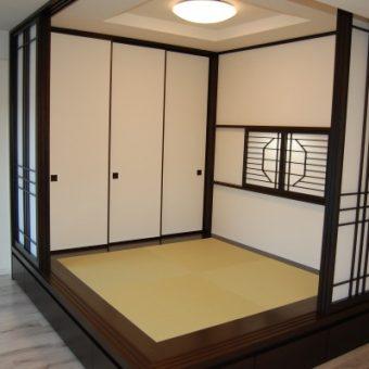 お客様こだわりの和室を作り上げました!小樽市
