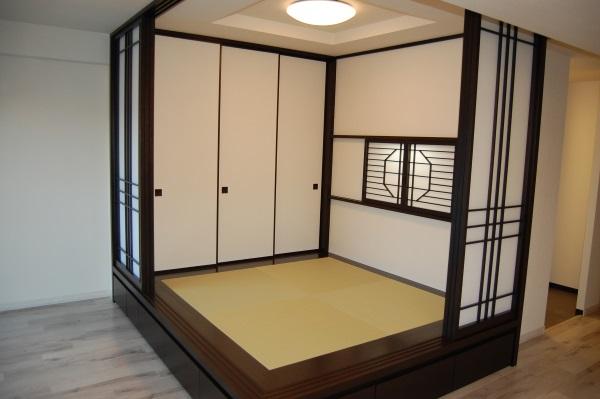 和室空間新設