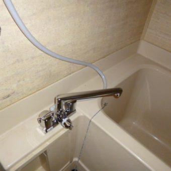 浴室水栓交換 札幌市豊平区 分譲マンション