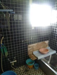 施工前浴室1
