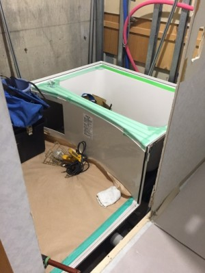 新浴槽施工