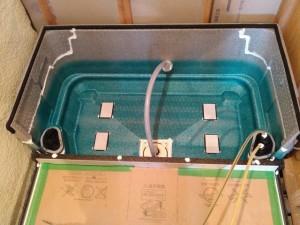 魔法びん浴槽設置