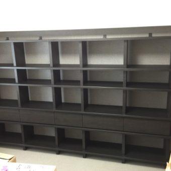 DAIKEN『システム収納フィットシェルフ』で大容量の本棚が実現!札幌市