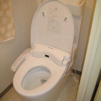 少ない水でもキレイに流す!パナソニックトイレ『アラウーノV』へ交換 札幌市