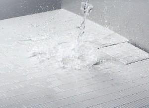 乾きやすい床