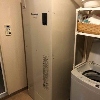 パナソニック製角型給湯専用電気温水器370Lタイプ交換!札幌市