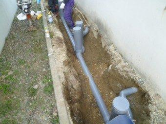 外部排水管交換工事でスムーズな排水へ 札幌市