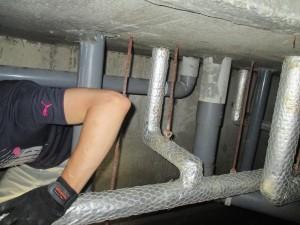 排水・給水管工事2