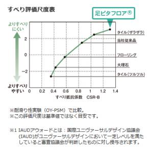 足ピタフロアグラフ