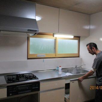 札幌市手稲区戸建住宅 システムキッチン『オフェリア』リフォーム
