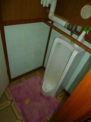 施工前トイレ