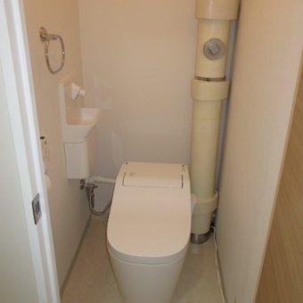 パナソニックトイレ『アラウーノSⅡ』のトリプル汚れガードでいつもキレイに!札幌市