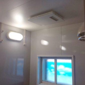 浴室暖房乾燥機の交換工事 札幌市手稲区