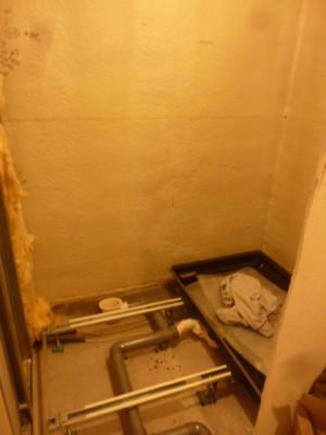防水パン設置