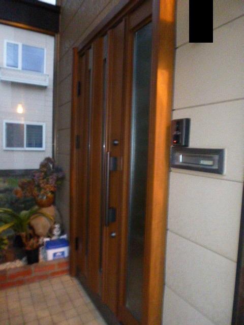 玄関ドア かんたんドアリモ