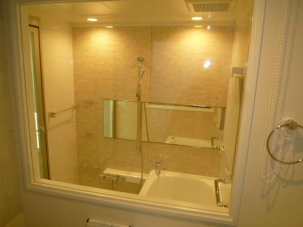 浴室窓完成