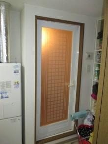 木製入口ドア