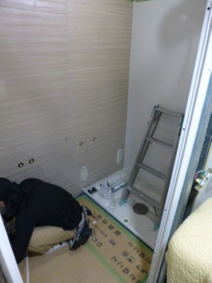 美浴室施工2