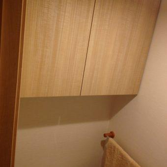 トイレ吊戸棚製作 札幌市 豊平区