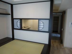 キッチン小窓