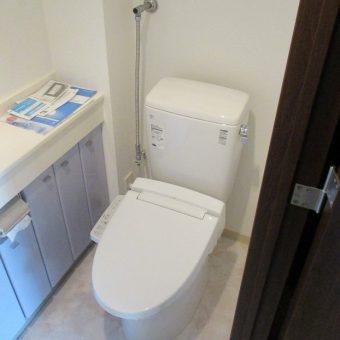 札幌市中央区マンション 節水型トイレへリフォーム
