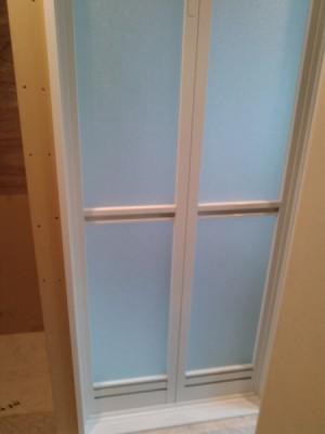 浴室入口ドア枠