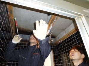 天井の解体下地