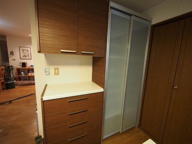 施工後食器棚